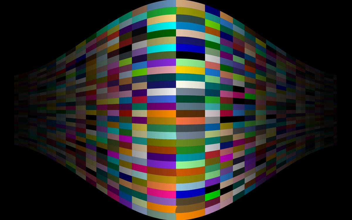 Symmetry,Light,Fractal Art