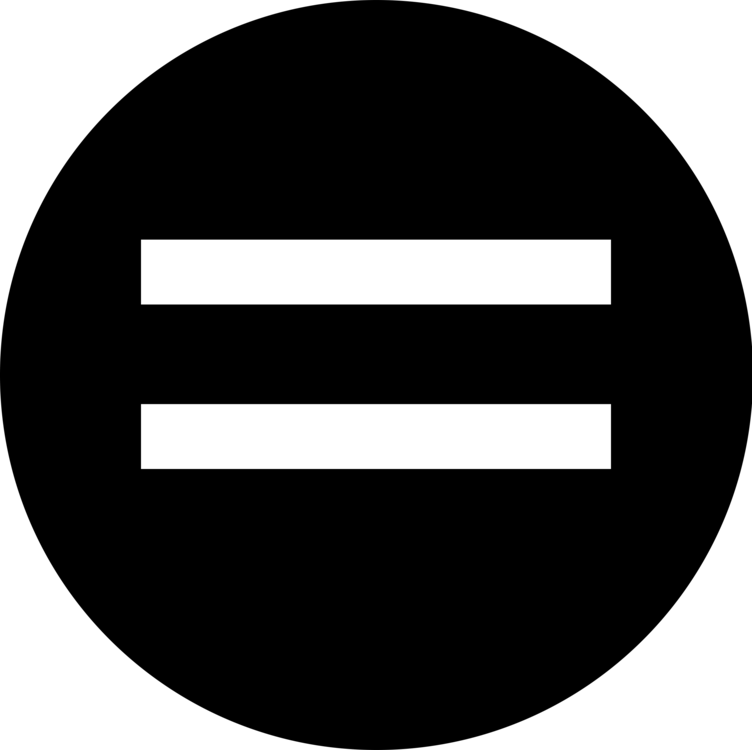 Equals Sign Symbol Circle Computer Icons Equality Free Commercial