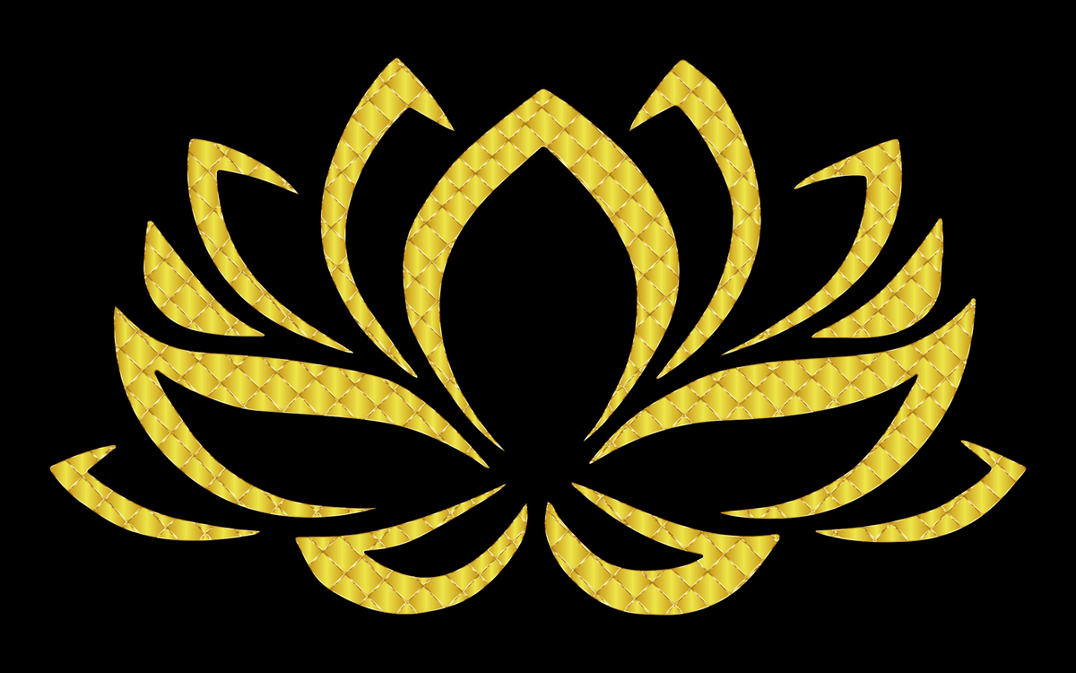 Sacred Lotus Wall decal Sticker Flower