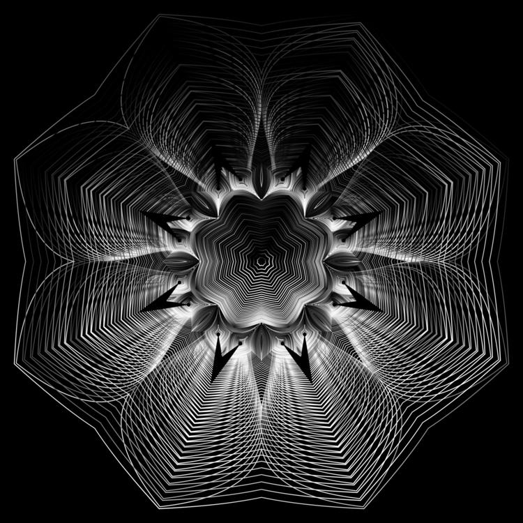 Symmetry,Monochrome Photography,Sphere
