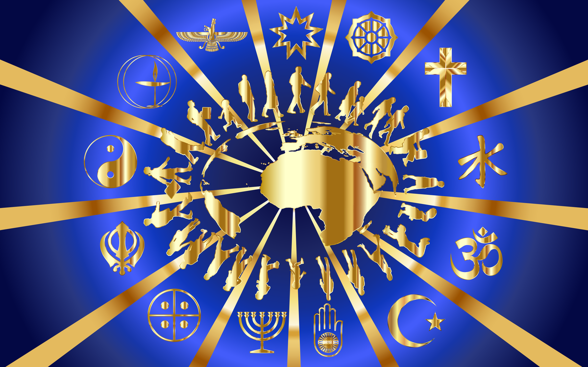Religion Golden Rule Religious Symbol Sikhism Free Commercial