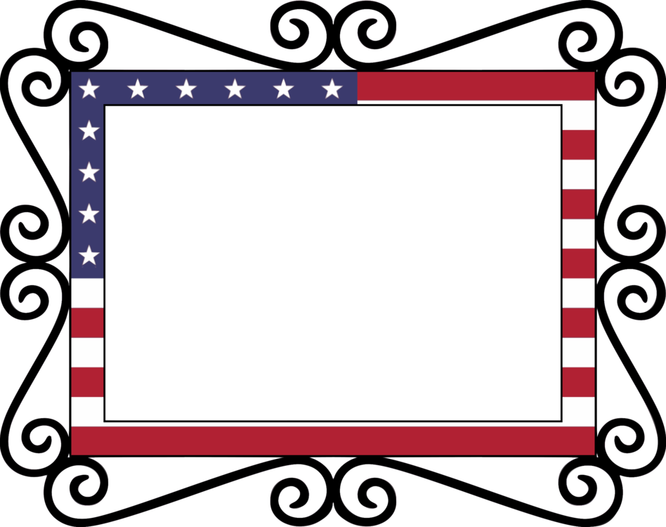 flag of the united states union jack border free commercial clipart