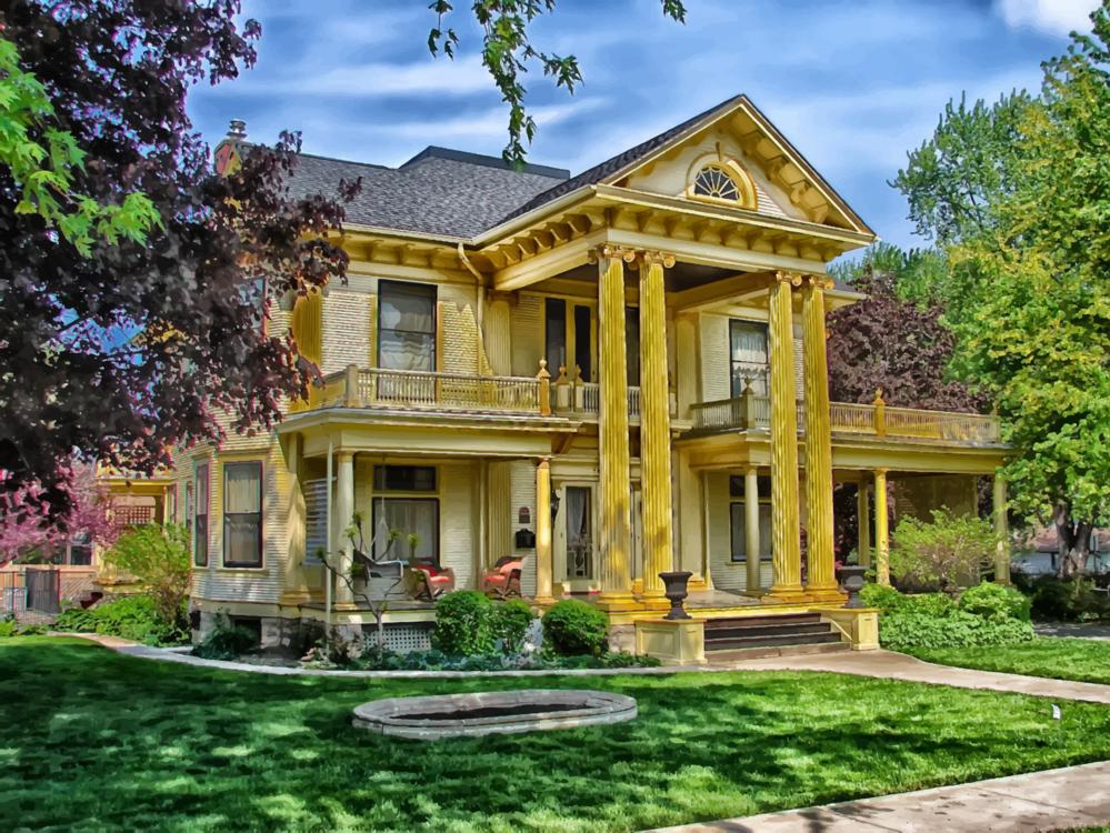 Building,Farmhouse,Facade