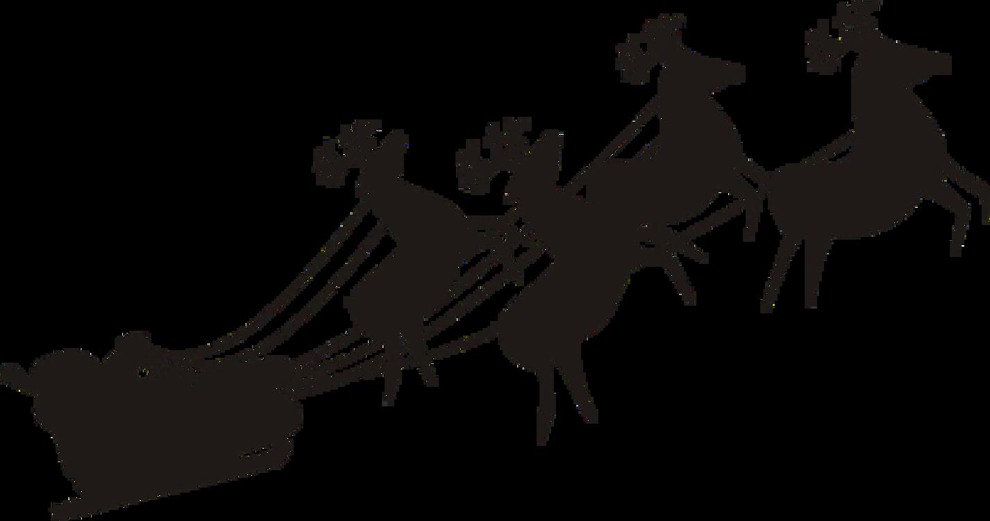 Santa Clauss Reindeer Christmas Day Gift