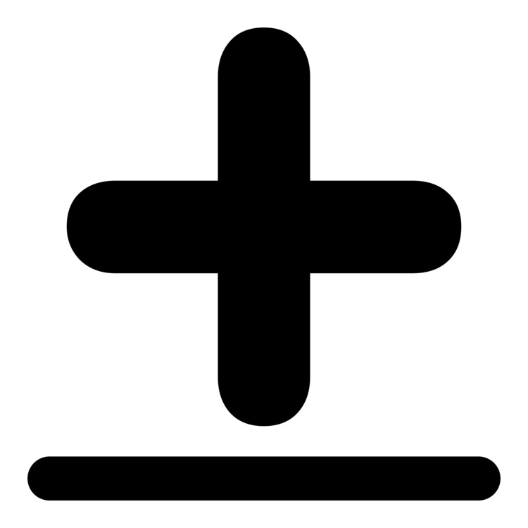 Symbol Plus And Minus Signs Computer Icons Plus Minus Sign Cross