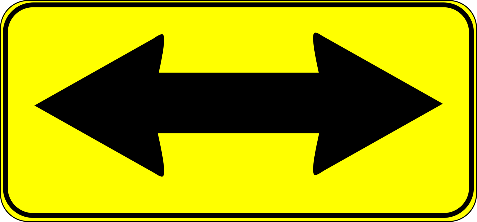 Arrow Traffic Sign Symbol Computer Icons Free Commercial Clipart