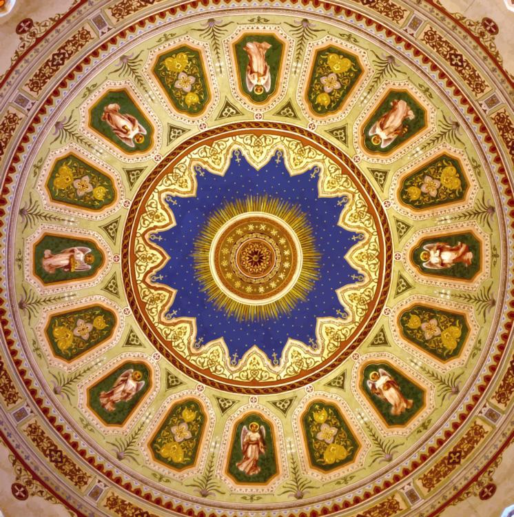 Byzantine Architecture,Symmetry,Dome