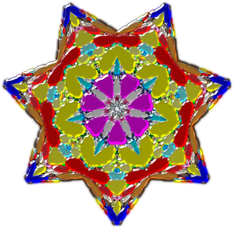 Christmas Ornament,Symmetry,Kaleidoscope