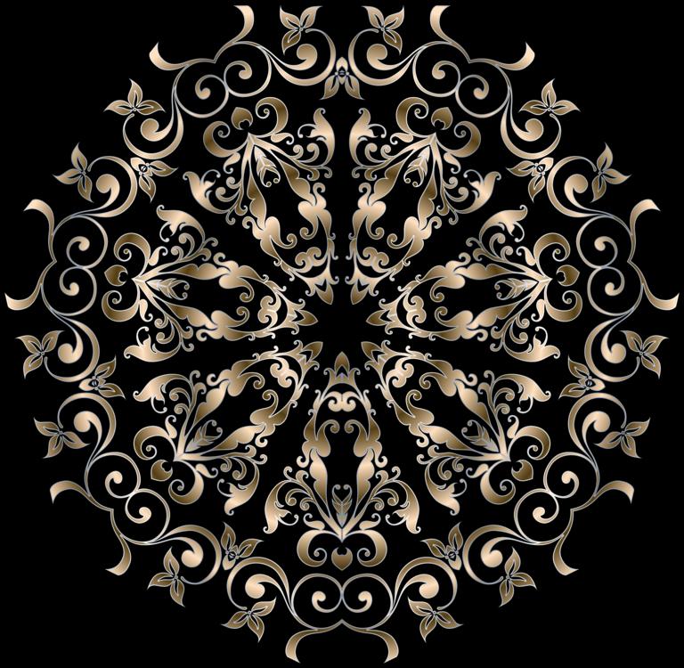 Art Floral Design Visual Design Elements And Principles Mehndi Free - Graphic design elements and principles