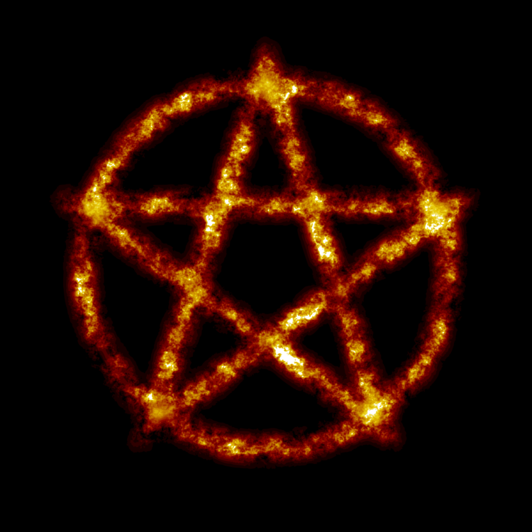Pentagram Magic Witchcraft Symbol Wicca Free Commercial Clipart