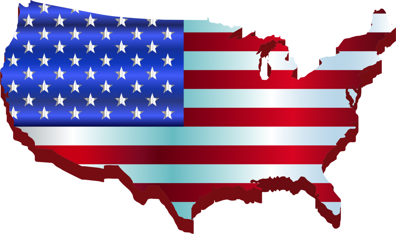 Flag of the United States Map National flag Computer Icons free ...