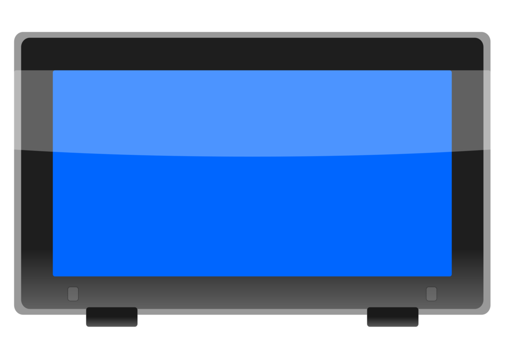 Computer Monitor,Electric Blue,Flat Panel Display