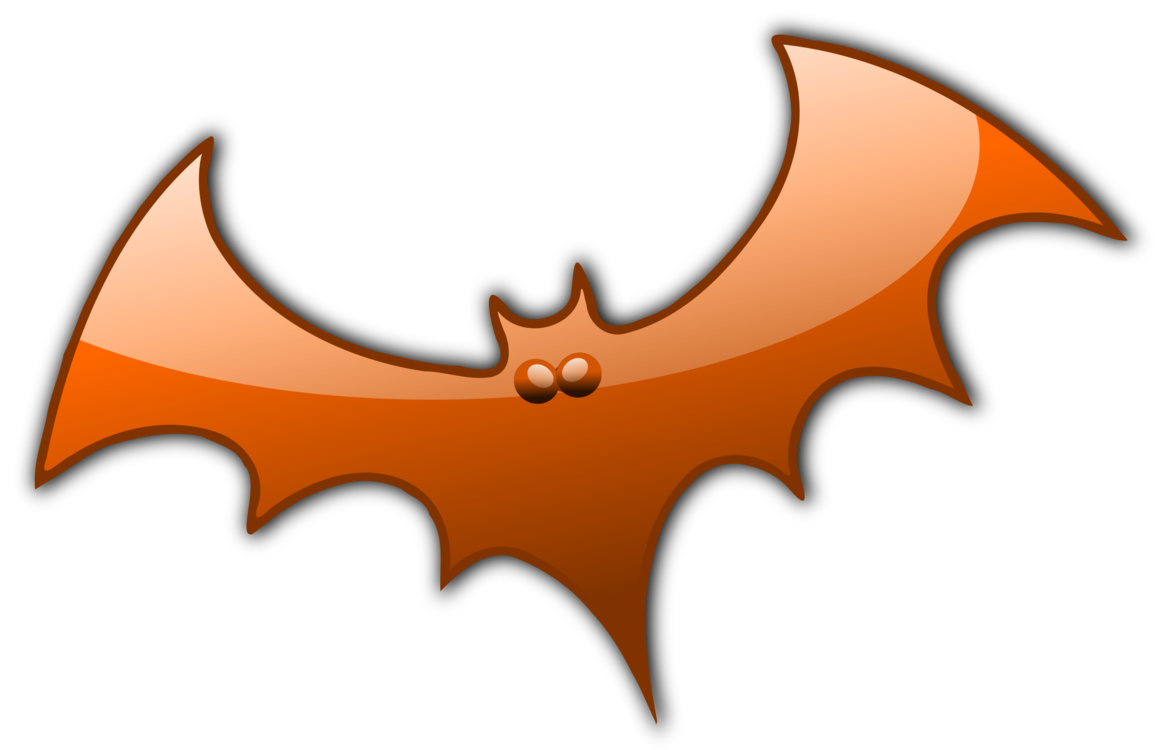 Bat,Symbol,Orange