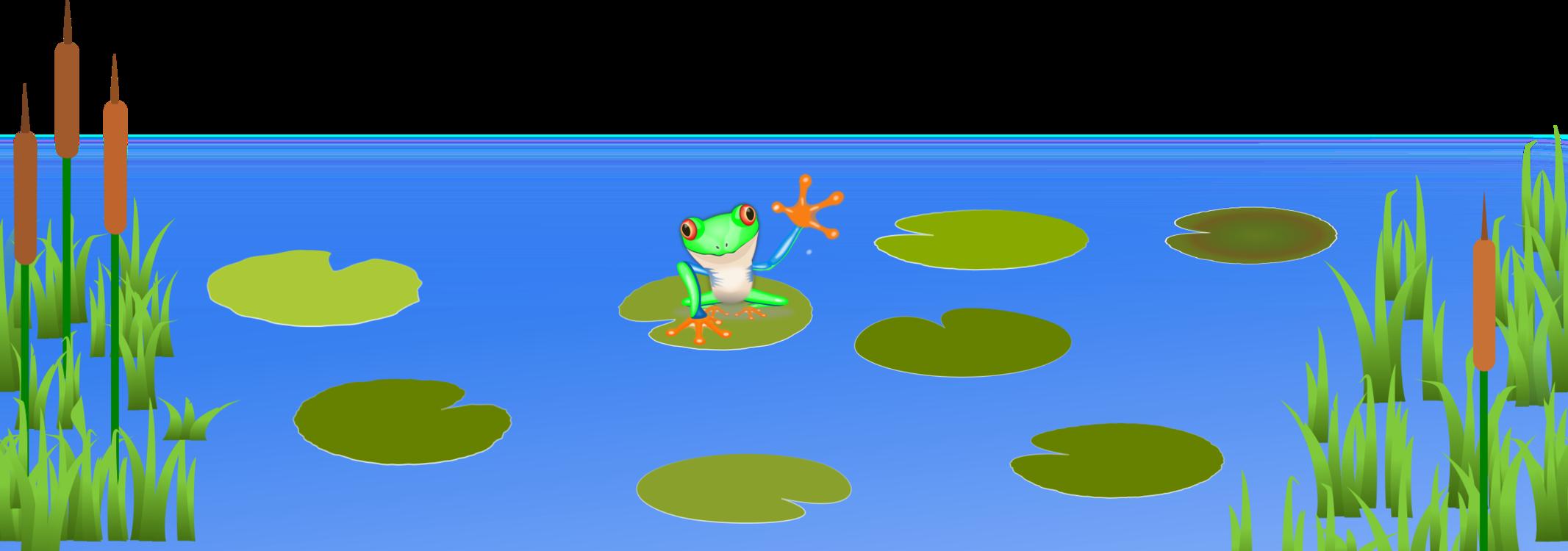 CLIPART POND | Royalty free vector design | Landscape illustration,  Background clipart, Scene