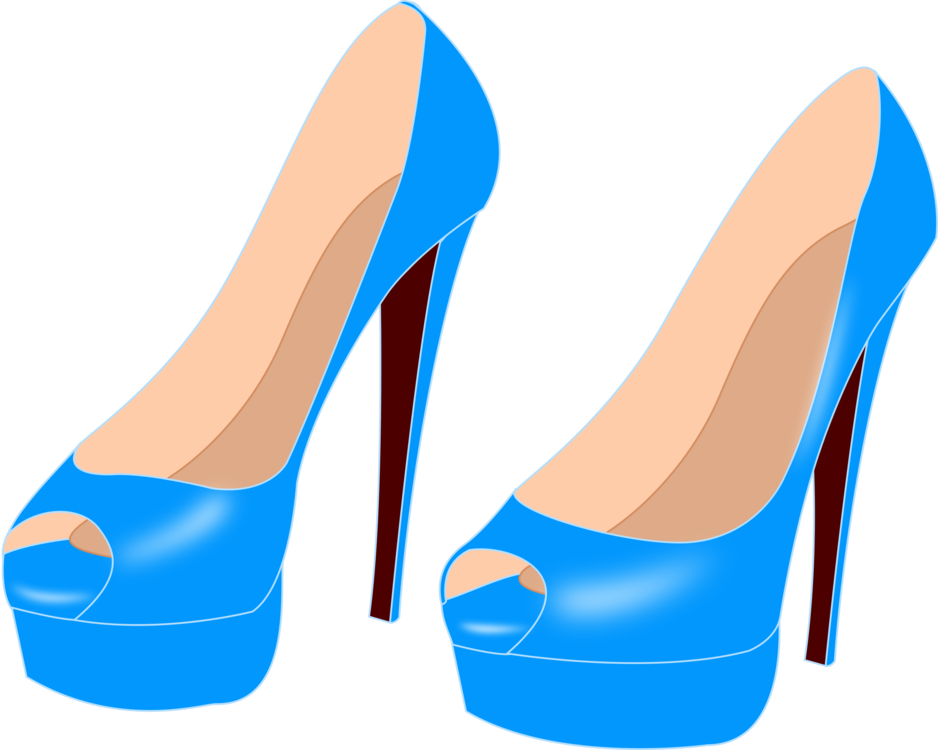 Clothing Blue Boot clip art Clipart Images