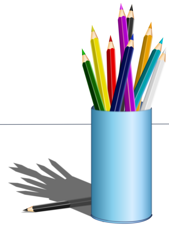 Colored pencil Paper Coloring book Pens free commercial clipart ...