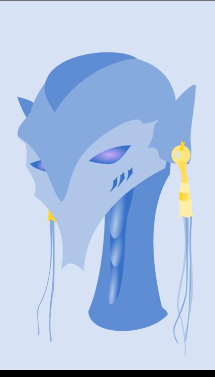Blue,Head,Art
