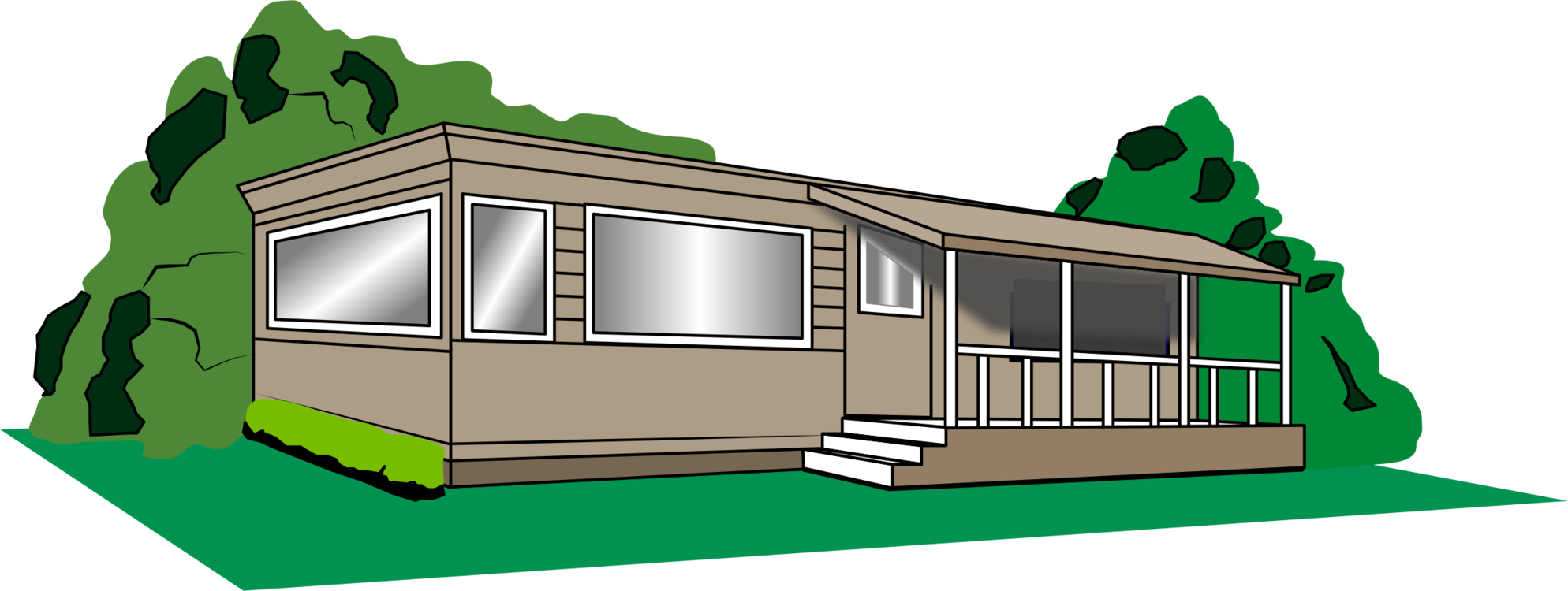 Mobile home House Campervan Park Logo free commercial clipart ... on how to stuff homes, how to get a mansion, home free homes, how to get on housing, how to get cars,