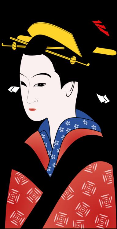 Woman,Art,Geisha