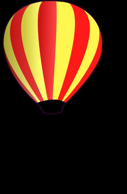 Balloon,Yellow,Hot Air Balloon