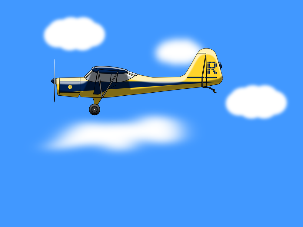 Aerobatics,Yellow,Light Aircraft