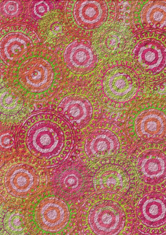 Pink,Textile,Circle