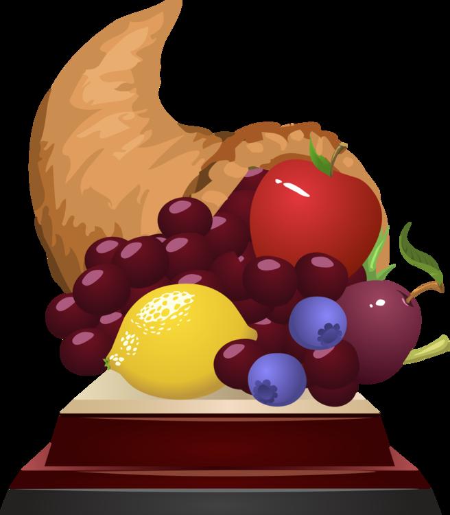 fruit cornucopia computer icons thanksgiving day trophy free