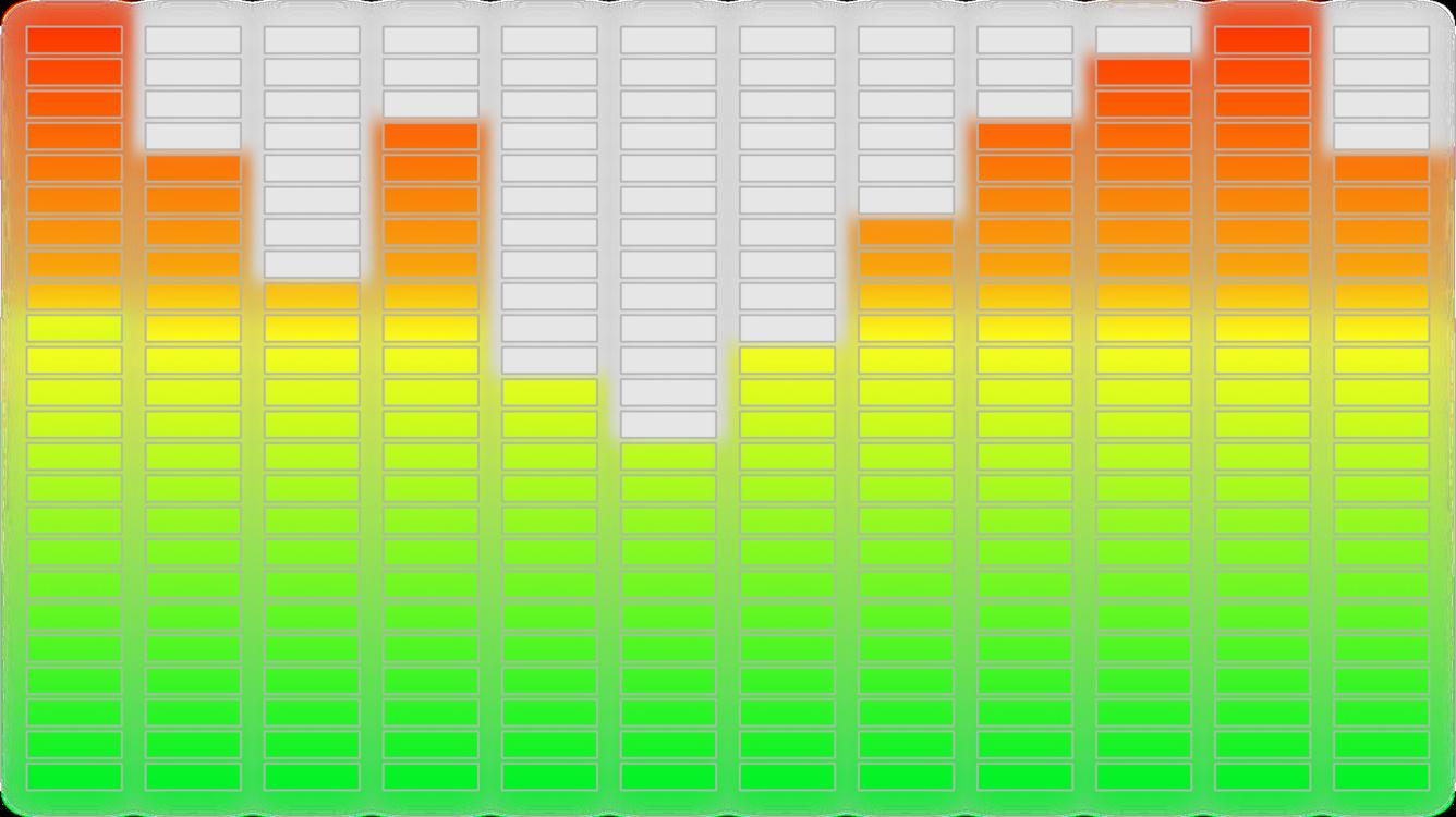 VU meter Sound Equalization Bar chart Computer Icons CC0 - Square