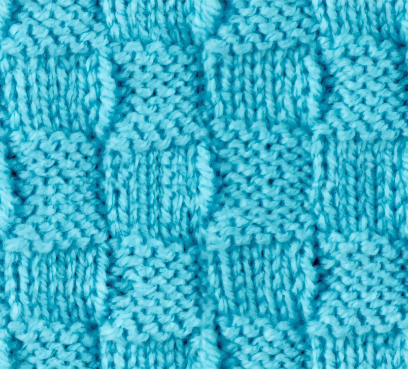 Blue,Woolen,Turquoise