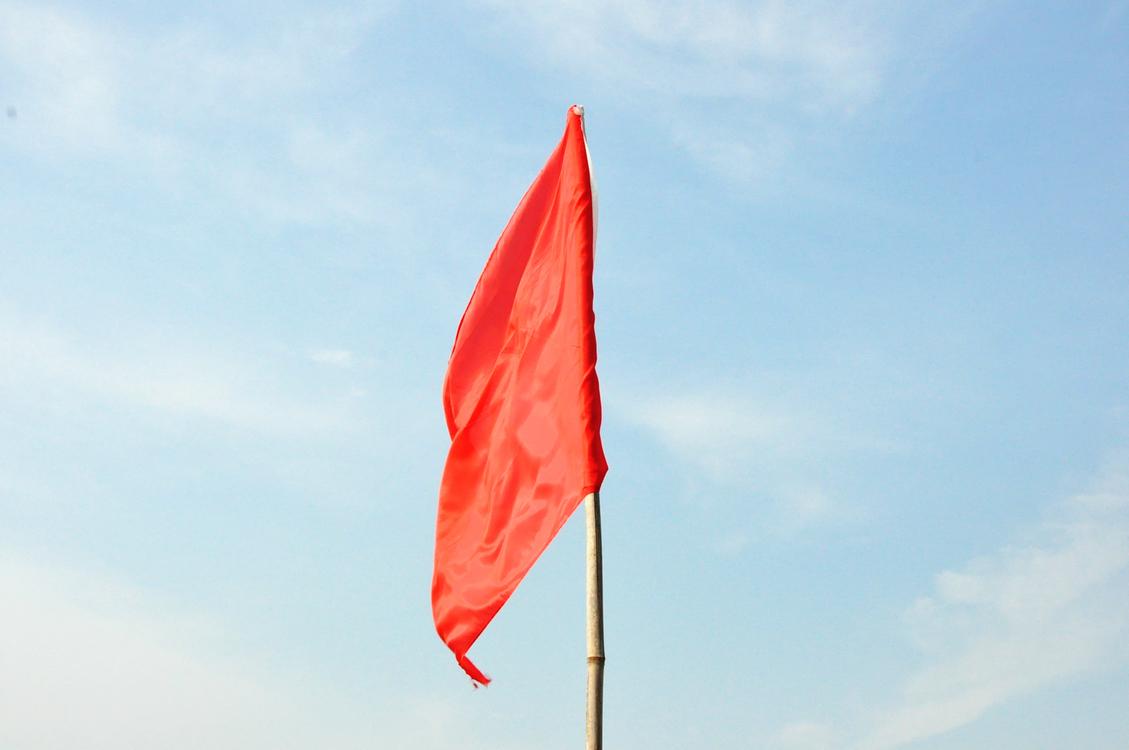 Red Flag,Cloud,Sky