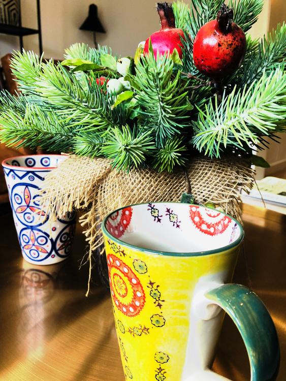 Plant,Christmas Decoration,Flowerpot