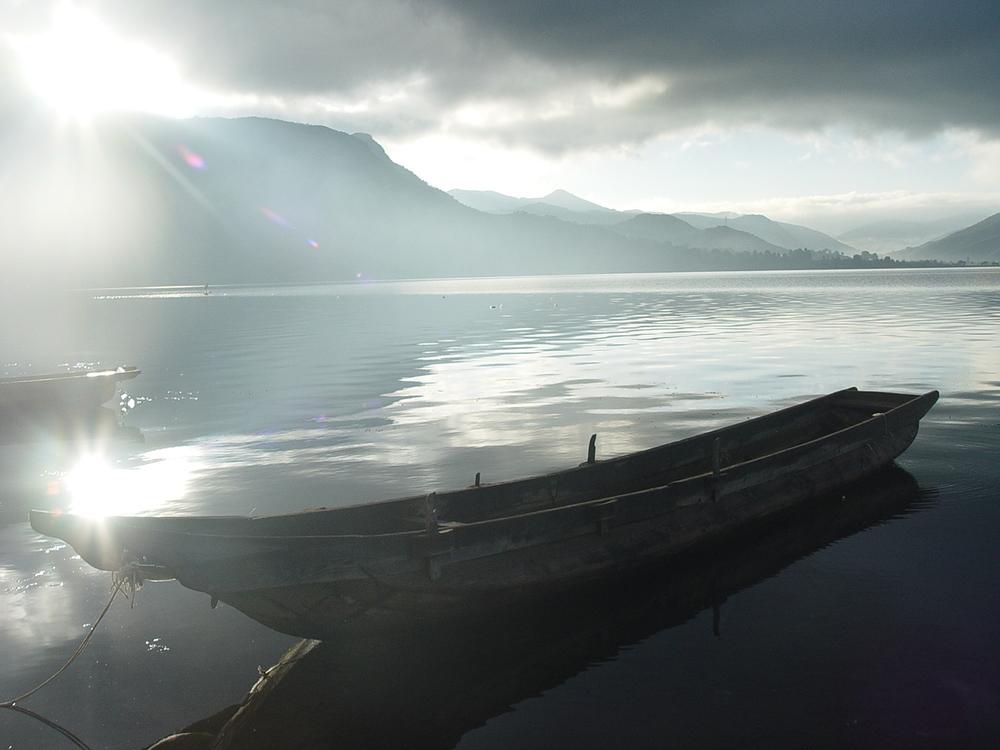 Loch,Sea,Dawn