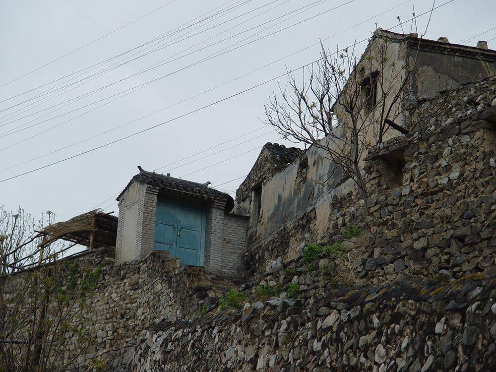Building,Mountain,Mountain Range