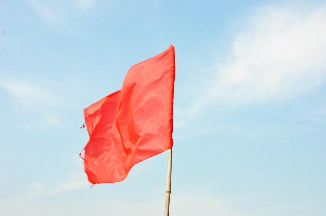 Red Flag,Sky,Flag
