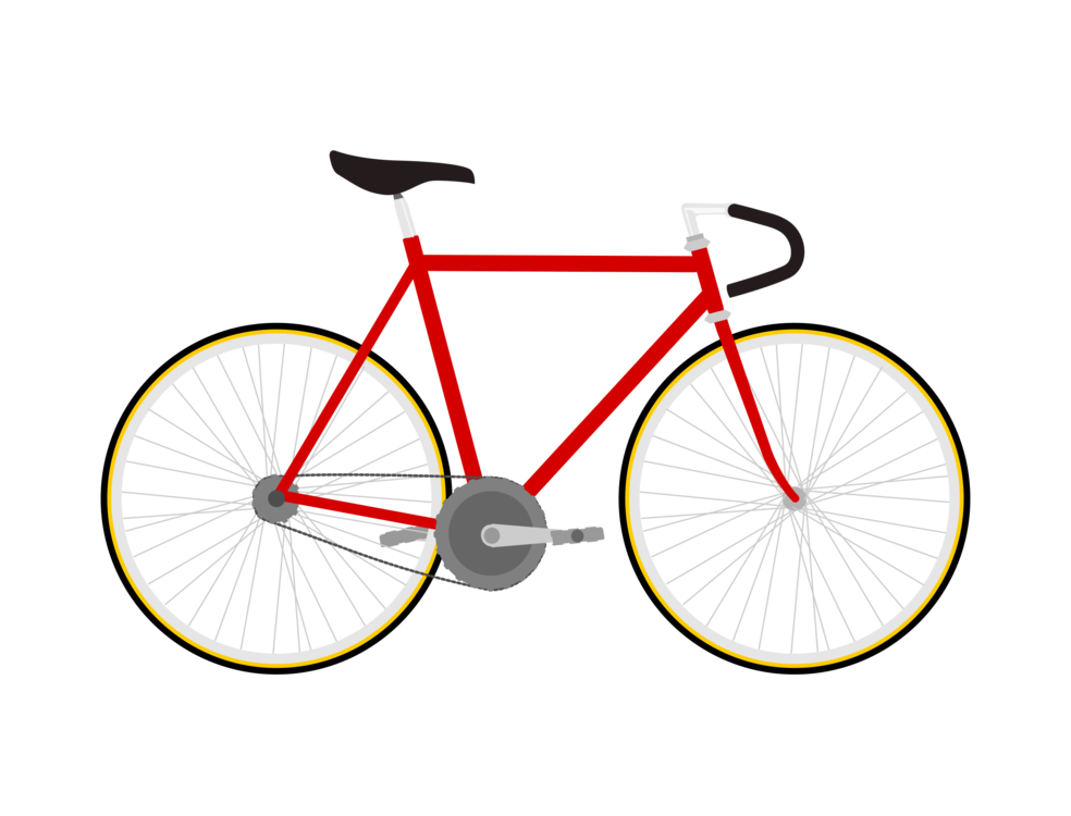 Fixed-gear bicycle Racing bicycle Track bicycle Vintage clothing ...