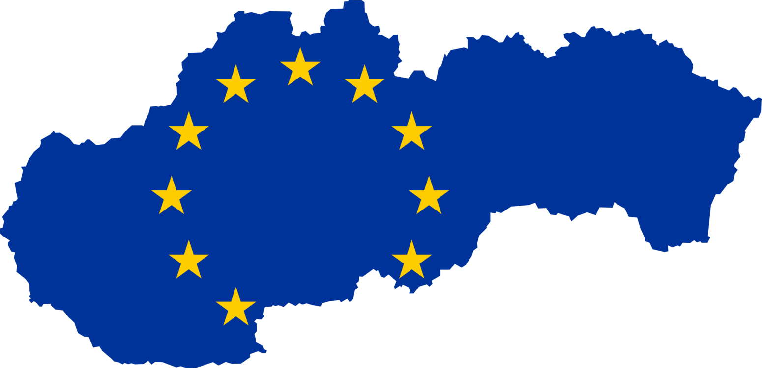 8f7a708a85 Slovakia Member state of the European Union Map Flag of Europe CC0 ...