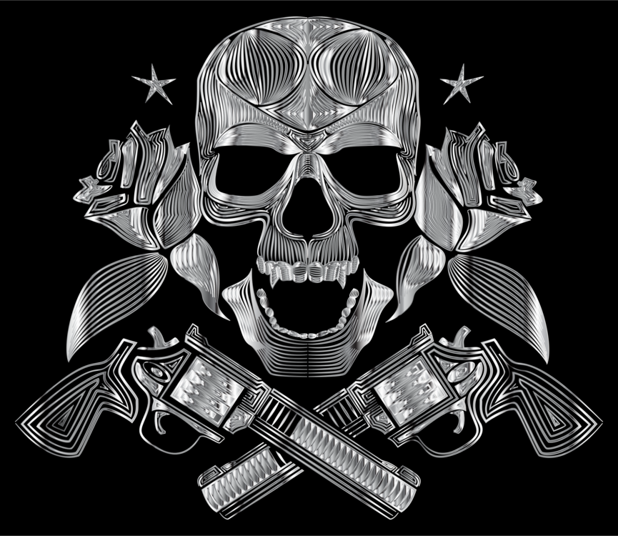 Skull Gangster Pirate High-definition video