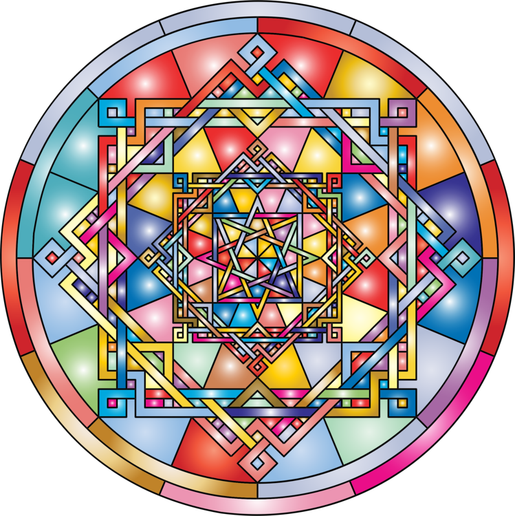 Stained glass Symmetry Point