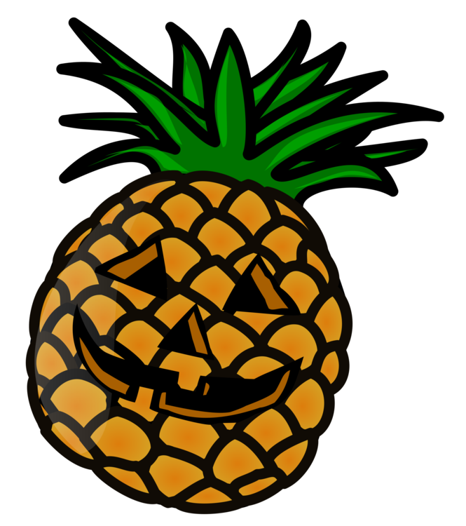 Pineapple Drawing Fruit Public domain Download