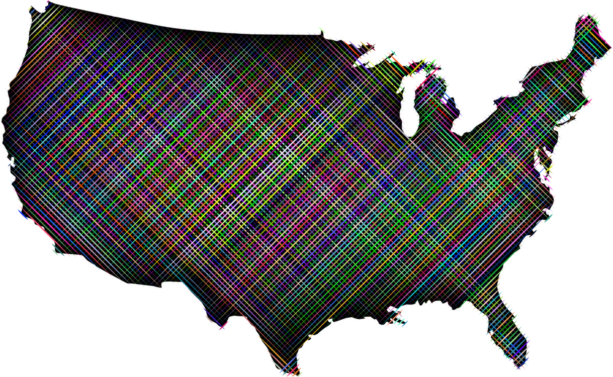 United States of America Map U.S. state Computer Icons