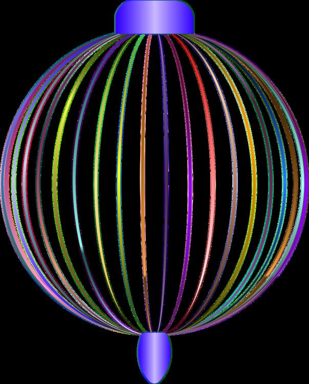 Line Symmetry Point Purple Balloon