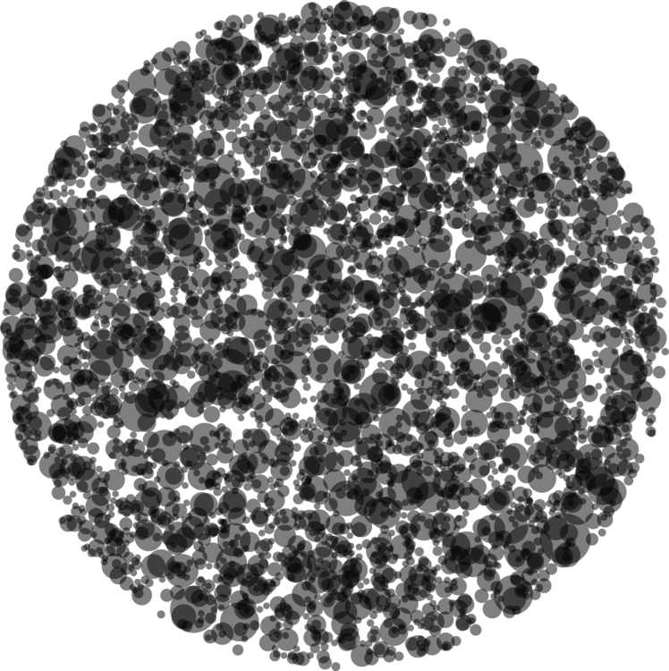 Circle,Black,Black And White
