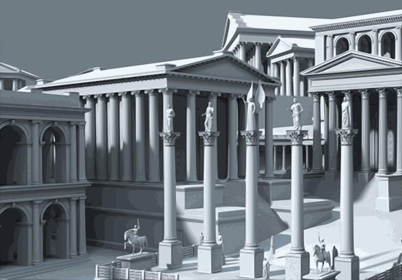 Temple of Saturn Roman Forum Temple of Jupiter Optimus Maximus