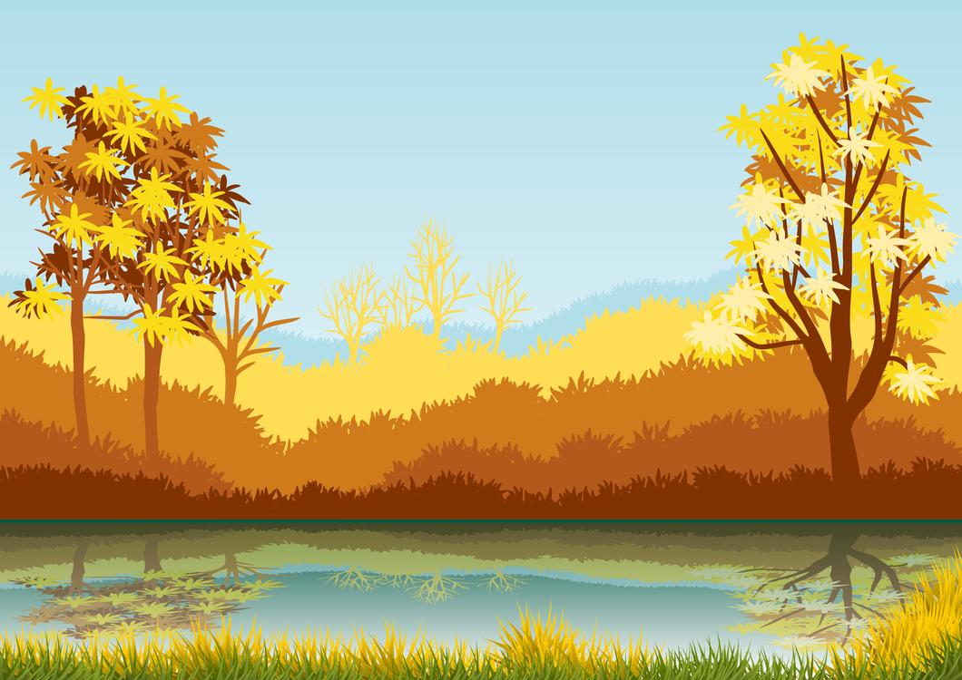 Leaf,Sky,Lake
