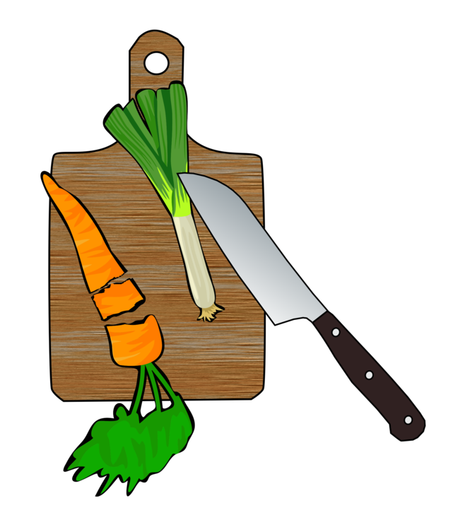 Cutting Board,Tool,Leek