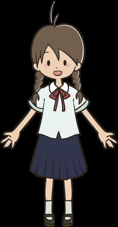 Art,Brown Hair,Uniform