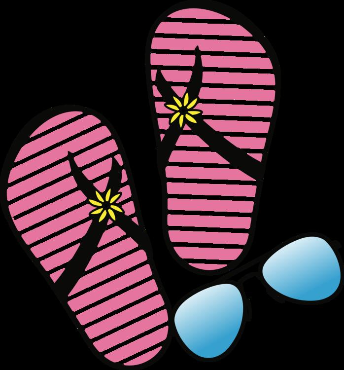 Pink,Magenta,Flipflops