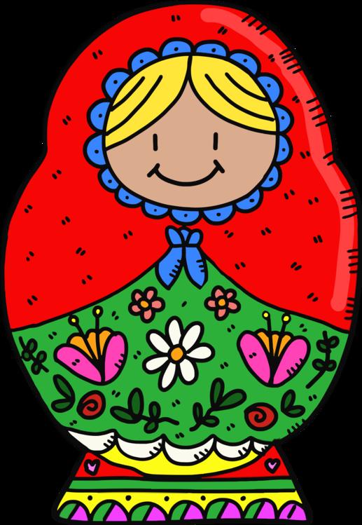 Matryoshka doll Russian nesting doll set vector illustration.   Nesting  dolls, Matryoshka doll, Russian doll