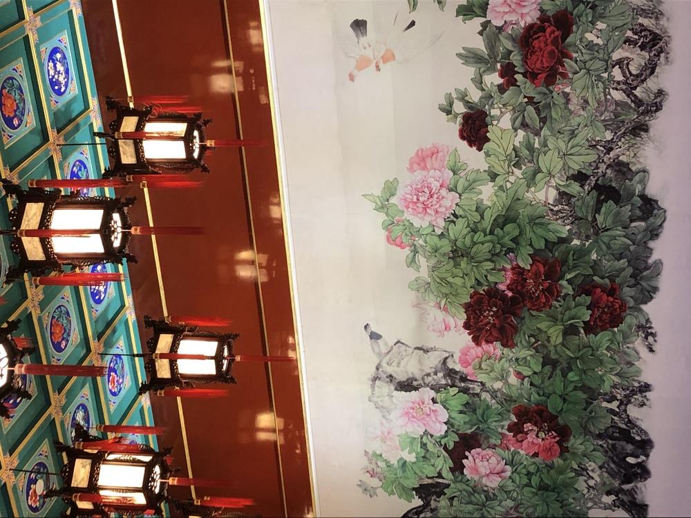 Building,Plant,Flower