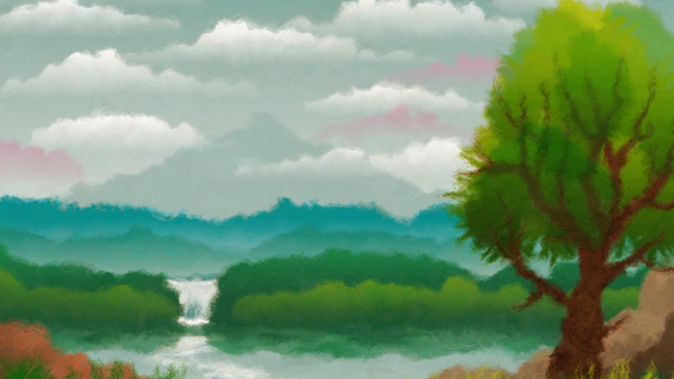 Watercolor Paint,Art,Nature